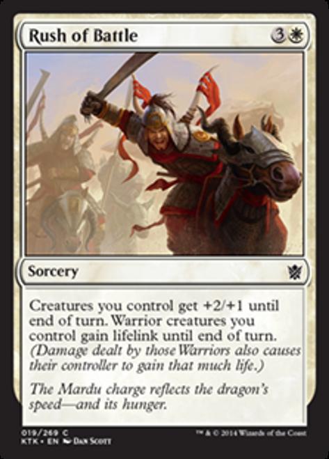 MtG Khans of Tarkir Common Rush of Battle #19
