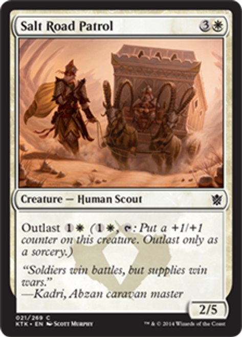 MtG Khans of Tarkir Common Salt Road Patrol #21