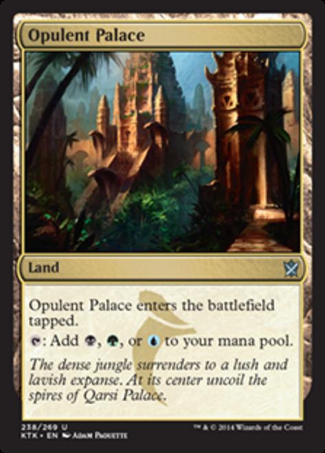 MtG Khans of Tarkir Uncommon Opulent Palace #238