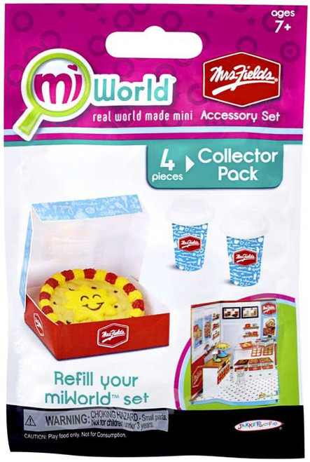 MiWorld Mrs. Fields 4 Piece Accessory Set Collector Pack