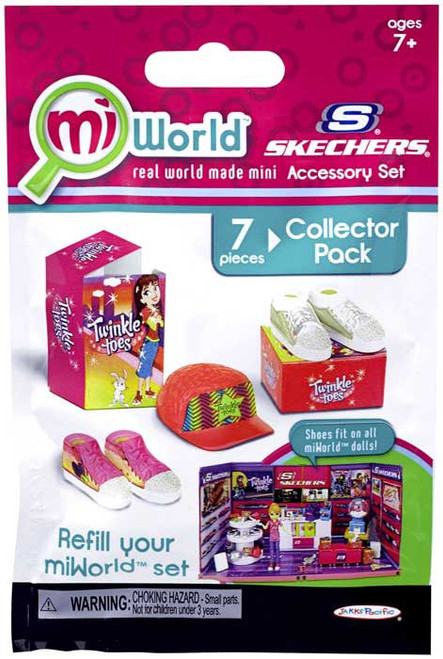 MiWorld Skechers Accessory Set #1 Collector Pack