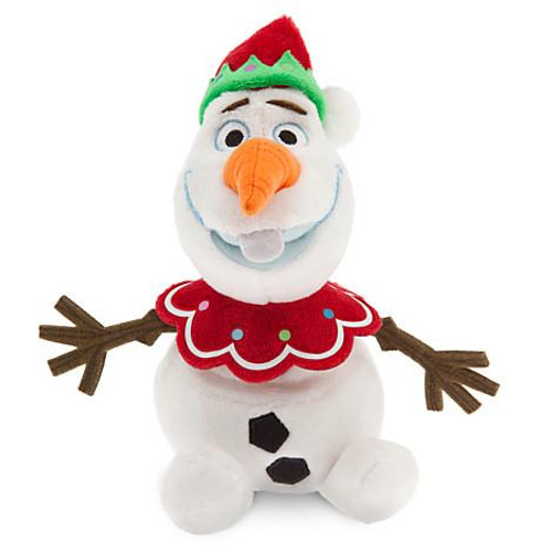 Disney Frozen Olaf Exclusive 7-Inch Plush Figure [Holiday, Elf Hat]