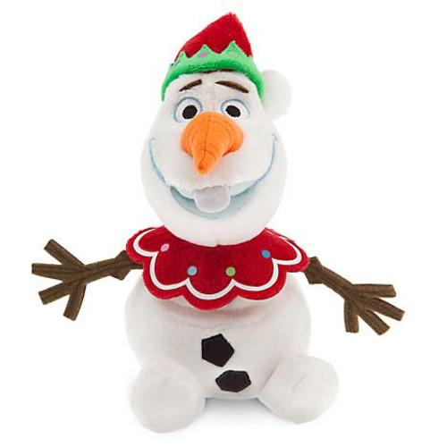 Disney Frozen Olaf Exclusive 7-Inch Plush Figure [Holiday, Elf Hat]