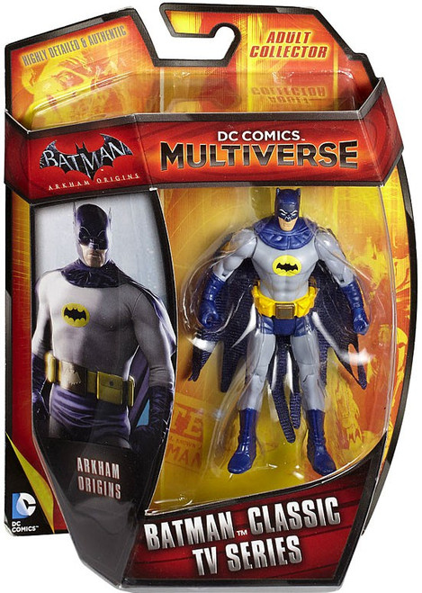 Arkham Origins DC Comics Multiverse Batman '66 Classic TV Series Action Figure