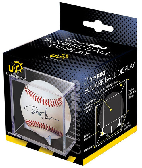 Ultra Pro UV Protection Square Ball Display [Great for Signed Baseball!]