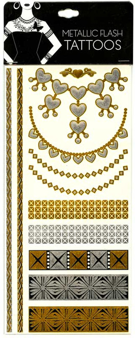 Metallic Flash Tattoos [#14999]