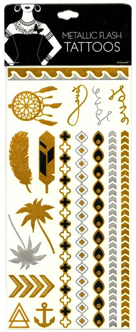 Metallic Flash Tattoos [#14795]