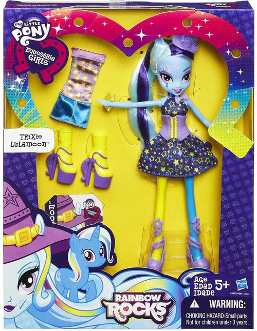 My Little Pony Equestria Girls Rainbow Rocks Trixie Lulamoon 9-Inch Doll