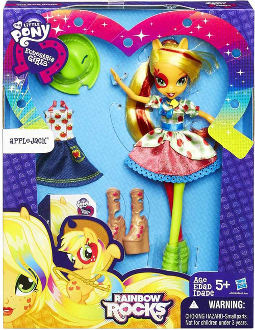 My Little Pony Equestria Girls Rainbow Rocks Applejack 9-Inch Doll