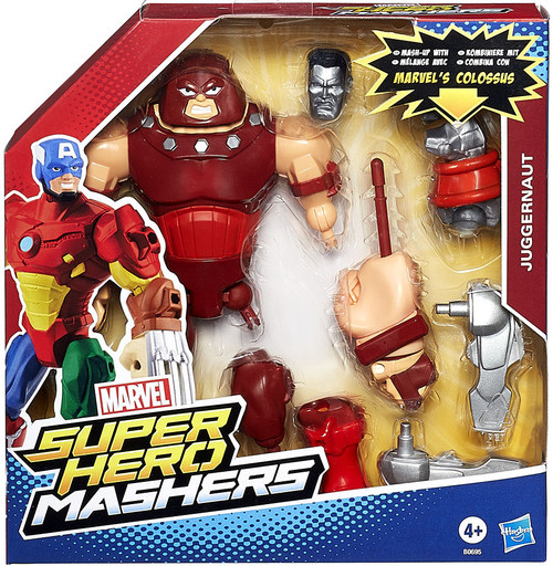 Marvel Super Hero Mashers Battle Upgrade Juggernaut Action Figure