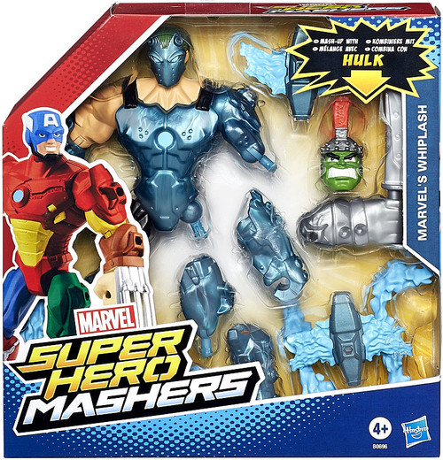 Marvel Super Hero Mashers Battle Upgrade Whiplash Action Figure