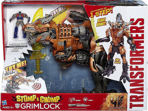 Transformers Age of Extinction Grimlock Leader Action Figure [Stomp & Chomp]