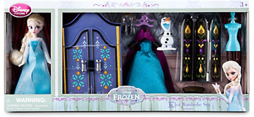 Disney Frozen Elsa Wardrobe Exclusive 5.5-Inch Doll Playset