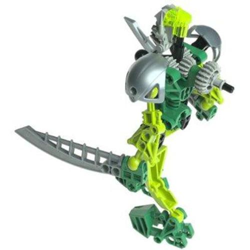 LEGO Bionicle Toa Super Nuva Lewa Set #8567 [Green Loose]