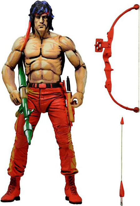 NECA First Blood Part II Classic Video Game Rambo Action Figure