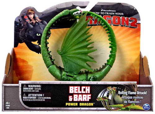 How to Train Your Dragon 2 Power Dragons Belch & Barf Action Figure [Zippleback]
