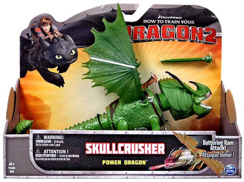 How to Train Your Dragon 2 Power Dragons Skullcrusher Action Figure