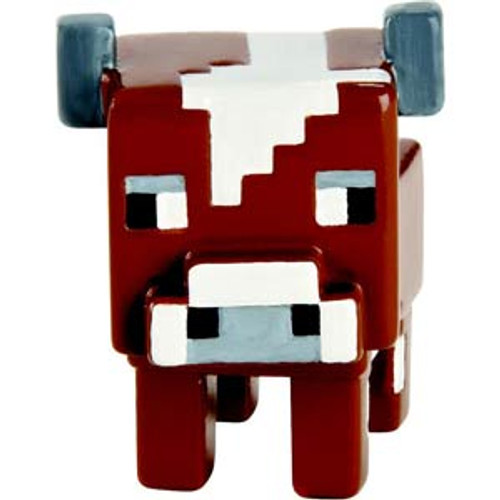 Minecraft Grass Series 1 Cow 1-Inch Mini Figure [Loose]