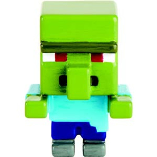 Minecraft Grass Series 1 Zombie Villager 1-Inch Mini Figure [Loose]