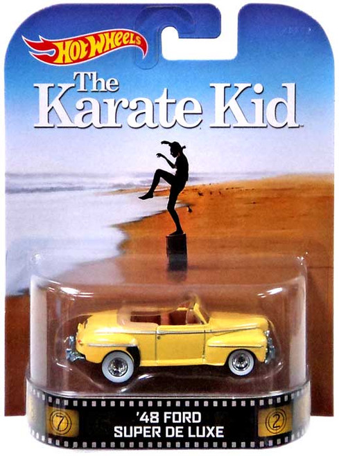 Hot Wheels The Karate Kid HW Retro Entertainment '48 Ford Super De Luxe Die-Cast Car