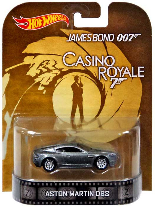 Hot Wheels James Bond HW Retro Entertainment Aston Martin DBS Diecast Car [Casino Royale]