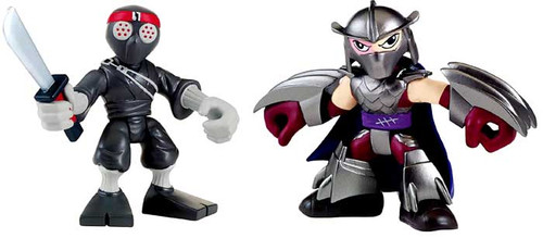 Teenage Mutant Ninja Turtles TMNT Half Shell Heroes Shredder & Foot Soldier Action Figure 2-Pack