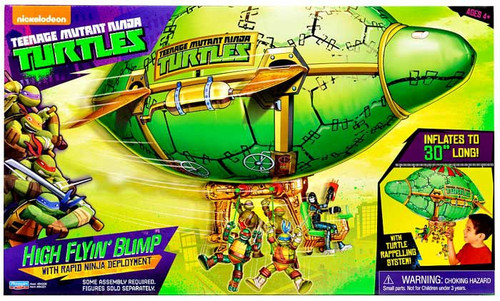 Teenage Mutant Ninja Turtles Nickelodeon High Flyin' Blimp 11-Inch Playset