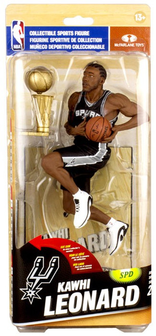 McFarlane Toys NBA San Antonio Spurs Sports Picks Series 26 Kawhi Leonard Action Figure [Black Uniform]