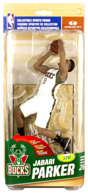 McFarlane Toys NBA Milwaukee Bucks Sports Picks Series 26 Jabari Parker Action Figure