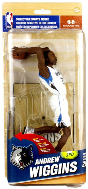 McFarlane Toys NBA Minnesota Timberwolves Sports Picks Series 26 Andrew Wiggins Action Figure