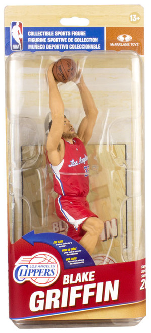 McFarlane Toys NBA Los Angeles Clippers Sports Picks Series 26 Blake Griffin Bronze Collector Level Action Figure [Red Uniform]
