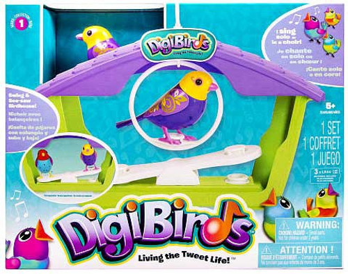 DigiBirds Birdhouse Playset
