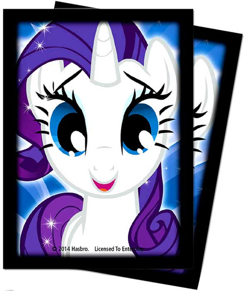 Ultra Pro My Little Pony Card Supplies Rarity Deck Protector Standard Card Sleeves