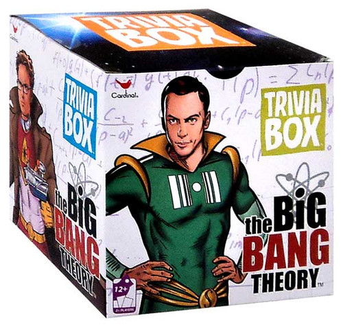 The Big Bang Theory Trivia Box Game