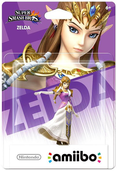 Nintendo Super Mario Super Smash Bros Amiibo Zelda Mini Figure