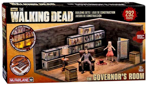 McFarlane Toys The Walking Dead The Governor's Room Building Set #14526
