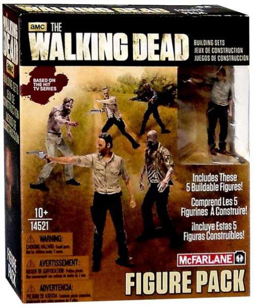 McFarlane Toys The Walking Dead 5 Figure Pack Building Set #14521