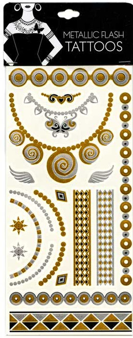 Metallic Flash Tattoos [#14997]