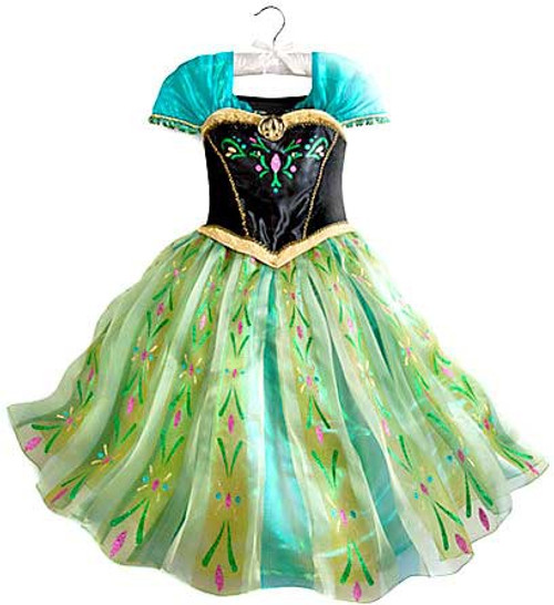 Disney Frozen Anna Exclusive Costume [Size 7/8]