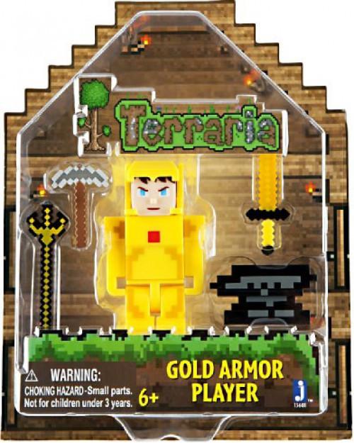 Terraria Gold Armor Player Action Figure