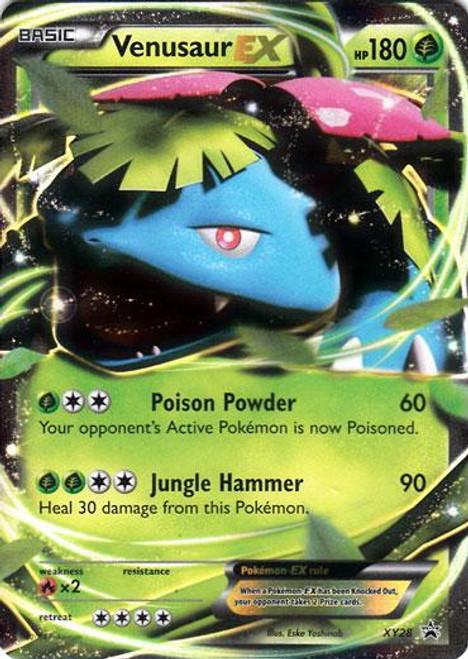 Pokemon X & Y Promo Ultra Rare Venusaur EX XY28