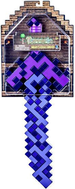 Terraria Night's Edge Sword Roleplay Toy