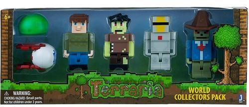 Terraria World Collector's Pack 1 Mini Figure 6-Pack Set
