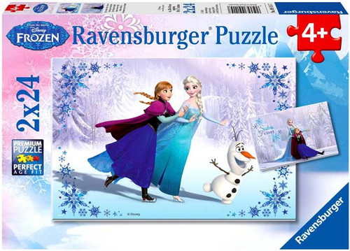 Disney Frozen Sisters Always Puzzle [2x24 Pieces]