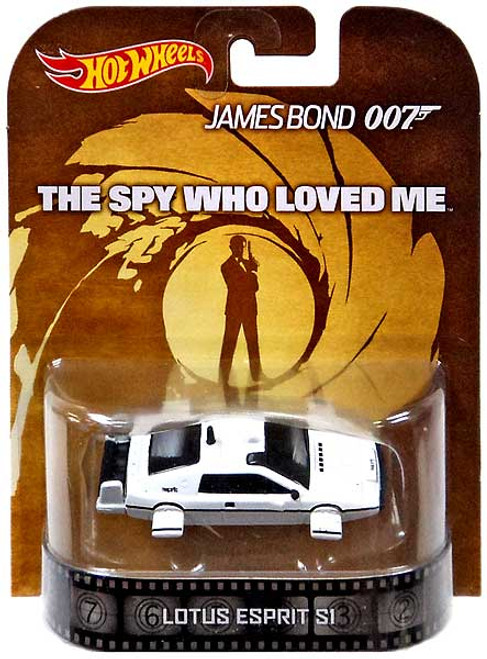 Hot Wheels James Bond HW Retro Entertainment Lotus Esprit S1 Diecast Car [The Spy Who Loved Me]