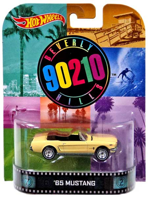 Hot Wheels Beverly Hills 90210 HW Retro Entertainment '65 Mustang Diecast Car