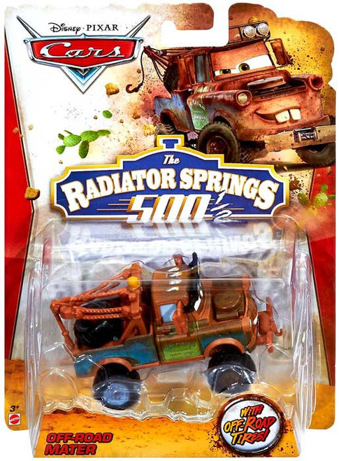 Disney / Pixar Cars The Radiator Springs 500 1/2 Mater Diecast Car [Off-Road]
