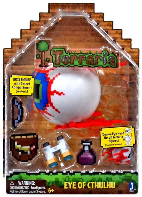 Terraria Deluxe Eye of Cthulhu Boss Action Figure Pack