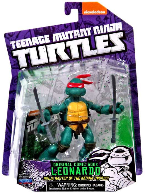 Teenage Mutant Ninja Turtles Nickelodeon Leonardo Action FIgure [Original Comic Book]