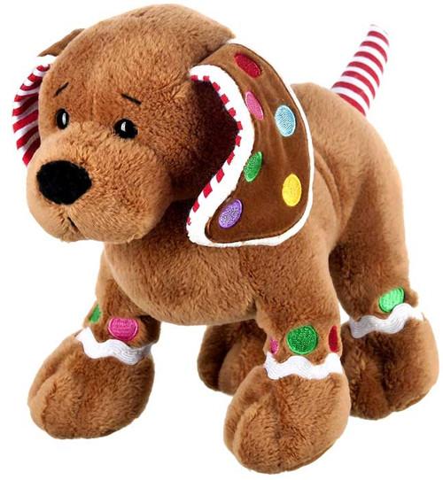 Webkinz Gingerbread Puppy Plush